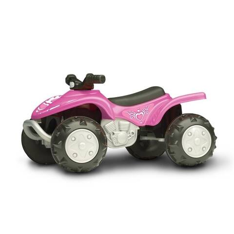 American Plastic Toys Trail Runner ATV, Pink