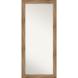 Floor / Leaner Mirror, Owl Brown: Outer Size 29 x 65-inch