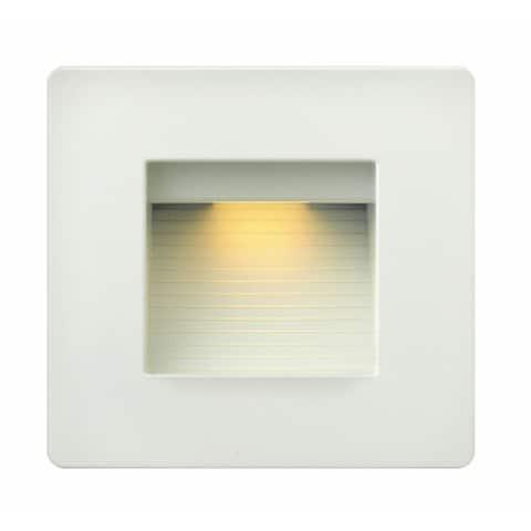 Hinkley Landscape Luna LED 4 Watt 120 Volt Deck Light - White