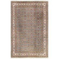 Hand Knotted Mood Semi Antique Wool Area Rug - 6' 6 x 10' 2