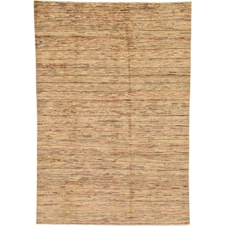 Hand Knotted Modern Ziegler Wool Area Rug - 6' 6 x 9' 5
