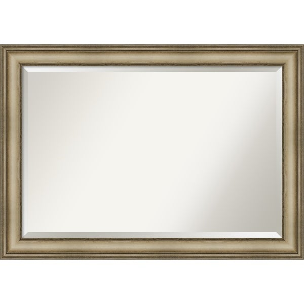 Wall Mirror, Mezzanine Antique Silver Narrow