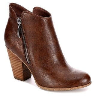 Michael By Michael Shannon Ginnie Side Zip Up Bootie Shoes