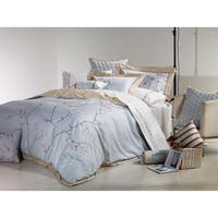 Broderie ensemble housse de couette Collection Sakura Embroidery Duvet Set
