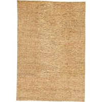 Hand Knotted Modern Ziegler Wool Area Rug - 6' 7 x 9' 8