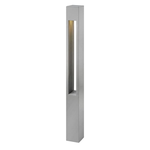Hinkley Landscape Atlantis LED 5 Watt Bollard Light - Silver. Opens flyout.