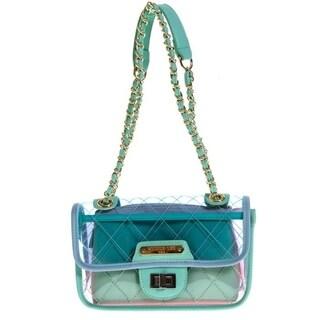 Nicole Lee Clear Mini Crossbody Bag