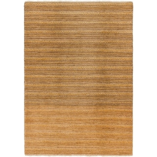 Hand Knotted Modern Ziegler Wool Area Rug - 4' x 6'