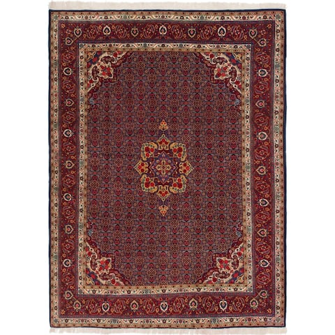 Hand Knotted Mood Wool Area Rug - 8' 5 x 11' 2