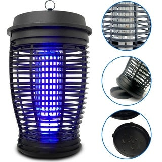 EasyGo Zapper - Mosquito Bug Killer Trap - Powerful 18 Watt Light Lamp - Indoor and Outdoor Use