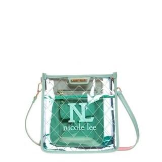 Nicole Lee Clear Crossbody Bag