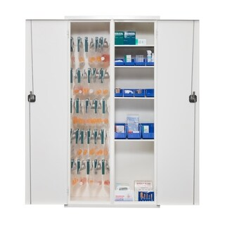 "FireKing Medical Solutions 72"" Tall Cabinet With Keylock"