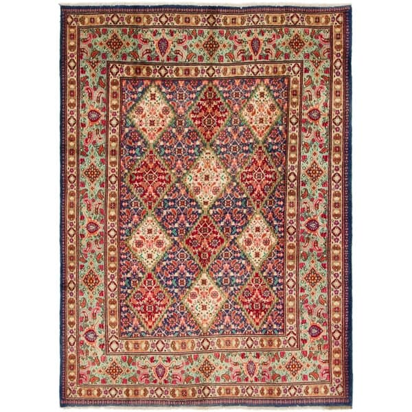 Hand Knotted Mood Wool Area Rug