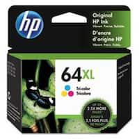 HP 64XL High Yield Tri-color Ink Cartridge,N9J91AN