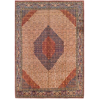 Hand Knotted Mood Wool Area Rug - 8' 5 x 12'