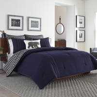 Eddie Bauer Kingston Navy Duvet Cover Set