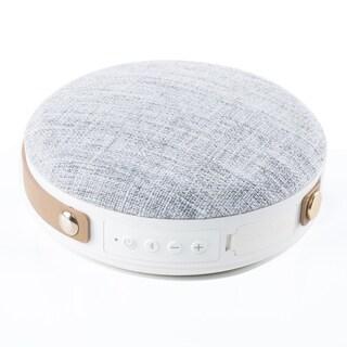 Round Bluetooth Fabric Speaker