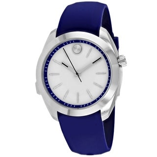 Link to Movado Women's 3660011 'Bold Motion' Blue Silicone Watch Similar Items in Men's Watches