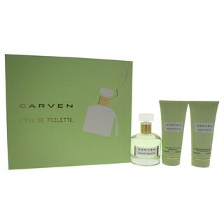 Carven L'Eau de Toilette Women's 3-piece Gift Set