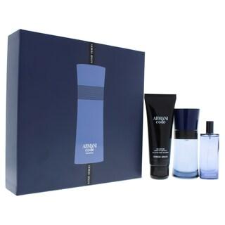 Giorgio Armani Code Colonia Men's 3-piece Gift Set