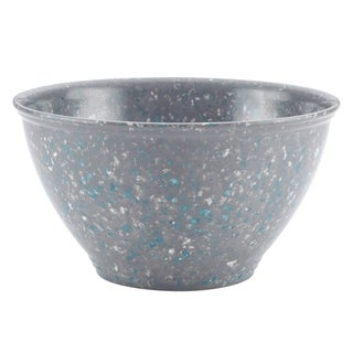 Rachael Ray Melamine Garbage Bowl, Sea Salt Gray