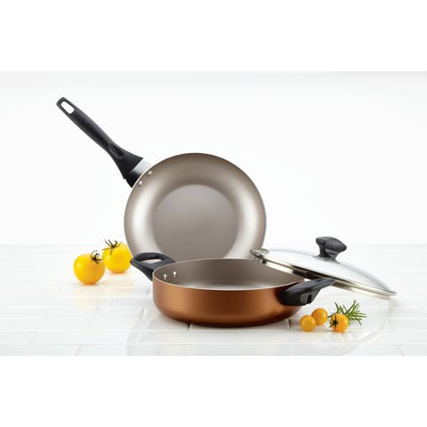 Farberware Dishwasher Safe Nonstick 3-Piece Cookware Set