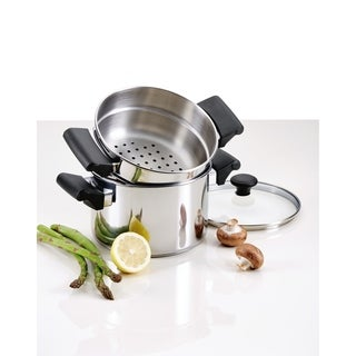 Farberware Classic Traditions Stainless Steel Stack 'N' Steam, 3-Quart