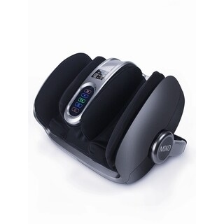 Miko Shiatsu Foot, Ankle, Calf Massager with Adjustable Heat and Pressure