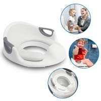 EasyGO Potty Toddler Training Seat with Cushion Toilet Seat