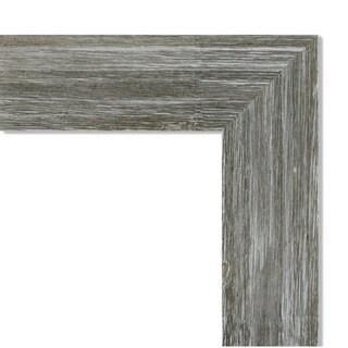 Framed Beige Cork Board, Fencepost Grey Narrow