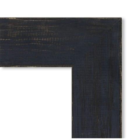 Framed Cork Board, Shiplap Navy