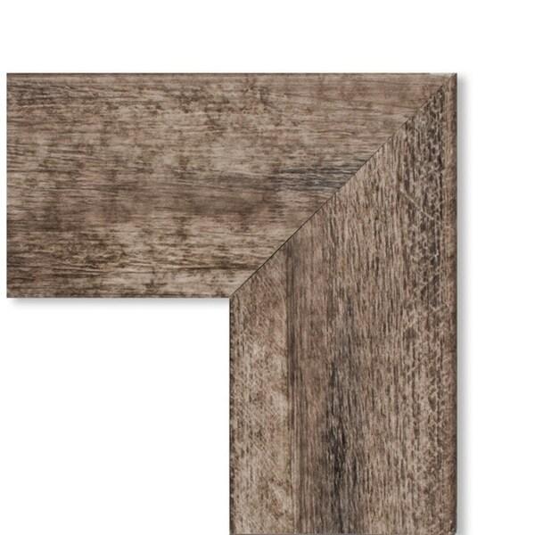 Framed White Cork Board, Owl Brown