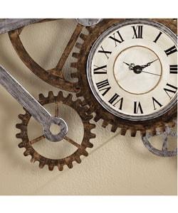 ... Thumbnail Harper Blvd Clock And Gears Wall Art ...