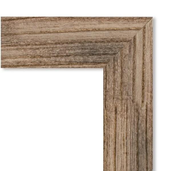 Framed Beige Cork Board, Owl Brown Narrow