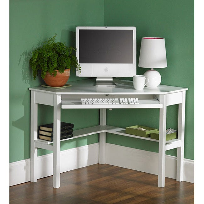 Harper Blvd White Birch Corner Desk, Size Small