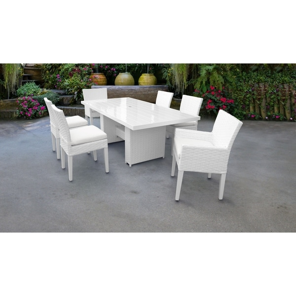 Shop Miami Rectangular Outdoor Patio Dining Table With