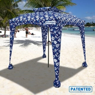 EasyGo Cabana 6ft X 6ft Beach & Sports Cabana Stays Cool & Comfortable