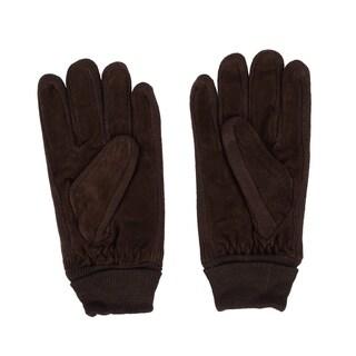 Super Soft Men's Suede Gloves Good Choice Winter Work