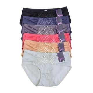 Sofra Intimate Sets  12-Pack Poly Bikini, size LG
