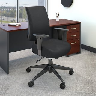 Bush Business Accord Mid Back Multifunction Office Chair in Black
