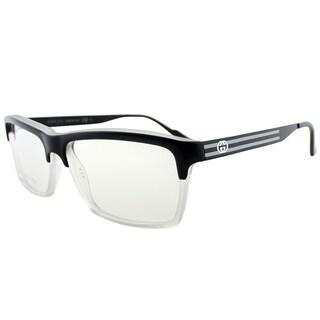 Gucci Rectangle GG 3517 WW2 Women Black Crystal Frame Eyeglasses