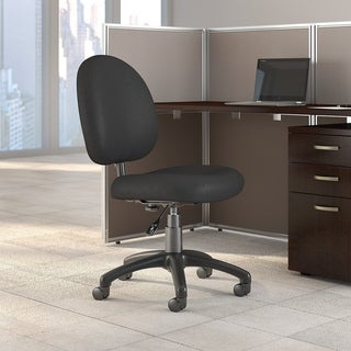 Bush Business Furniture Accord Task Chair in Black Fabric