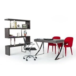 Modrest Ferris Modern Gray Elm Desk