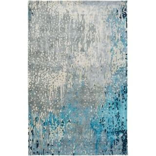 Savanna Abstract Handmade Area Rug - 9' x 13'