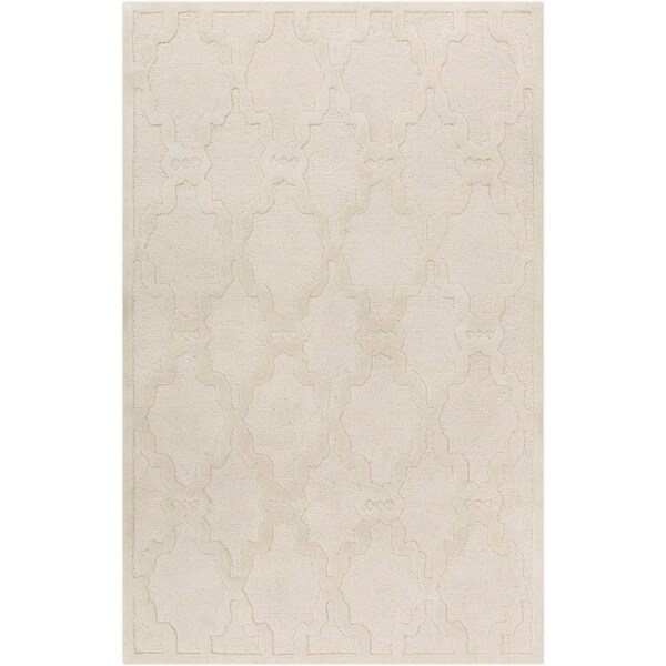 Hand-Tufted Bateson Casual Wool Area Rug - 9' x 12'