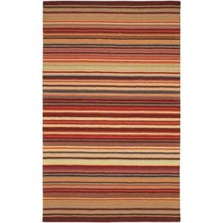 Hand-crafted Hawaiian Wool Area Rug - 8' x 11'