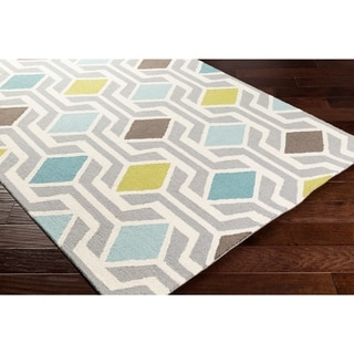 Hand-Tufted Pass Wool Rug - 8' x 11'