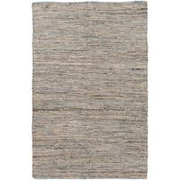 Hand-Loomed Reversible Haley Abstract Area Rug - 9' x 13'