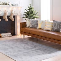 Hand-Loomed Kesgrave Viscose Area Rug - 9' x 12'