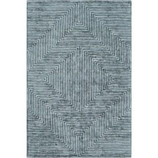 Porch & Den Angela Hand-tufted Viscose Area Rug - 8' x 10'